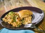 Пилешко с ориз и фъстъци