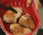 Пилешко с ориз и фъстъци 3