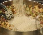 Пилешко с ориз и фъстъци 6