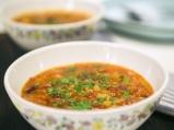 Доматена супа с боб и киноа
