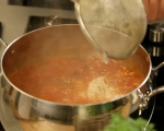 Доматена супа с боб и киноа 7
