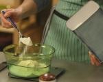 Кекс с ванилова глазура