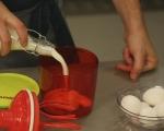 Кекс с ванилова глазура 2