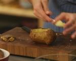 Печени картофи с плънка от кисело зеле 2
