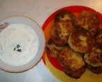 Картофени кюфтета с млечен сос 5