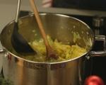 Супа от праз и резене с орехи 6