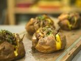 Печени картофи с плънка от гъби