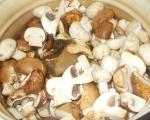 Гъбена крем супа 3