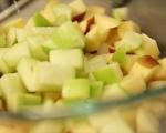 Плодова салата с крем сирене 4