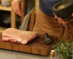 Свински гърди с кисело зеле 4