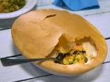 Зеленчукова яхния под кора