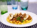 Рагу по неаполитански с пилешко