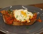 Яйца с печени зеленчуци 11