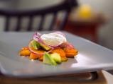 Салата от моркови и авокадо