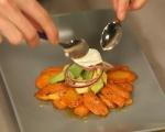Салата от моркови и авокадо 6