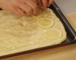 Фокача с лимон и розмарин 5