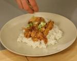 Пиле с портокалово-джинджифилов сос 8