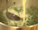 Супа от макарони и спанак 6