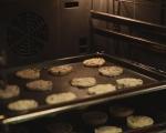 Кокосови бисквити със сушени боровинки 5