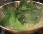 Рула от тесто със спанак и маслини 5