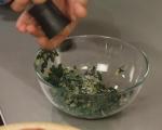 Рула от тесто със спанак и маслини 6