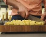 Сьомга с броколи и картофи на фурна