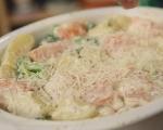 Сьомга с броколи и картофи на фурна 5