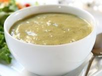 Зеленчукова крем супа с киноа