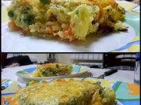 Гратен (огретен) от картофи и зеленчуци