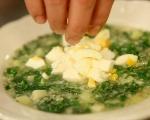 Супа от киноа със спанак и сирене 5