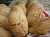 Ароматни хлебчета с леворда