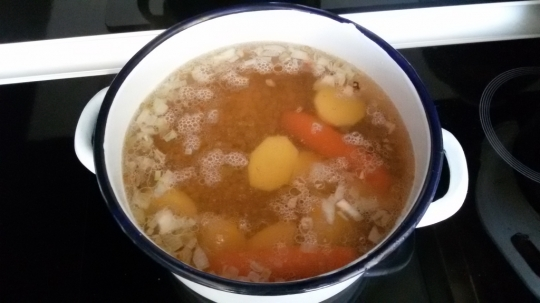 Крем супа от леща