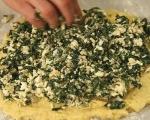 Картофено руло със спанак 9
