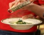 Зелена супа с тортелини  6