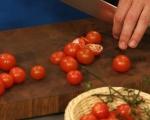 Салата от паста с домати и сирене 2