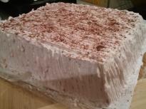 Торта с лек крем