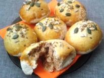 Хлебчета с пълнозърнесто брашно и семена