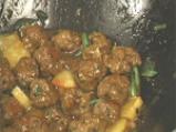 Азиатски кюфтенца с ананас 3