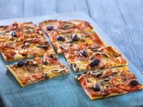 Пица с тесто от извара