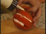Салата от домати с рулца от раци 3