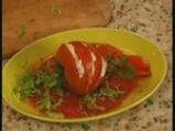 Салата от домати с рулца от раци 4