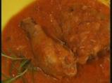Пиле с розмарин