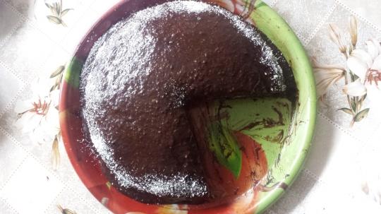 Торта без глутен и без захар, с домашно оризово брашно