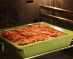 Тиквички с домати и ориз на фурна 8