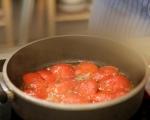 Обърнат доматен тарт 4