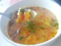 Зеленчукова супа с елда (гречка)