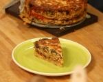 Торта от паста със зеленчуци 14