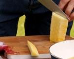 Пилешко с царевица и ананас 4