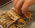 Патладжанени рула със спагети 14