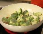 Паста с пилешко и броколи 5